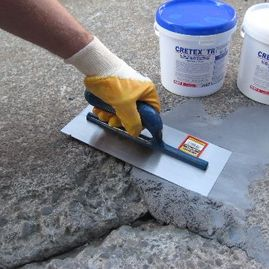 Cretex TR epoxy mortar